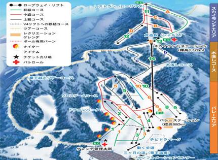 竜王スキーパーク(湯田中温泉宿泊)