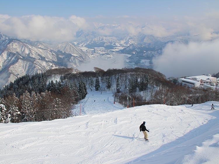 アクセス良好! ファミリーで楽しめるGALA湯沢スキー場