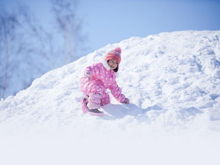 クレイドル号がゆく! 滑る楽しみが豊富な岩原スキー場